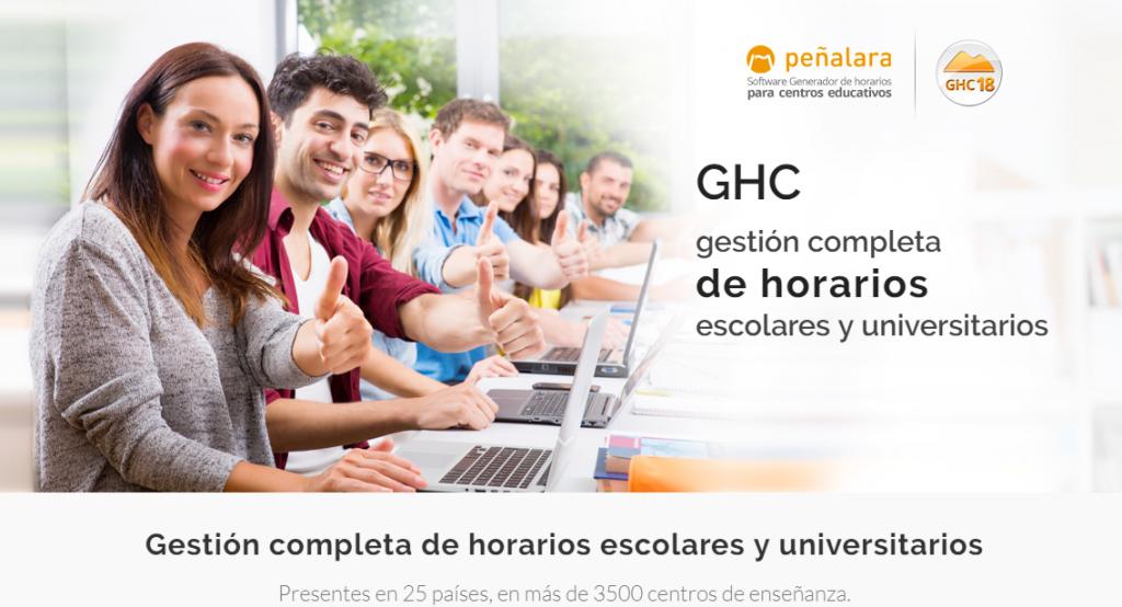 Generador de horarios ODUCA-GHC